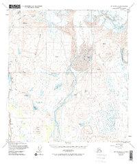 Topo map Mount Hayes A-3 Alaska