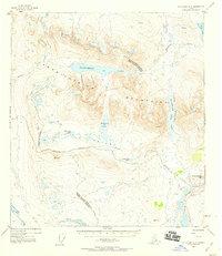 Topo map Mount Hayes A-5 Alaska