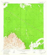 Topo map Mount Hayes D-3 Alaska