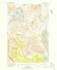 Topo map Mount Katmai A-4 Alaska