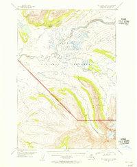 Topo map Mount Katmai A-6 Alaska