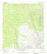 Topo map Mount McKinley A-5 Alaska