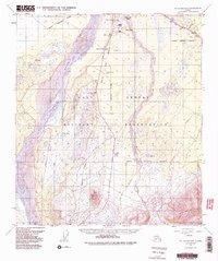 Topo map Mt. Hayes D-1 Alaska
