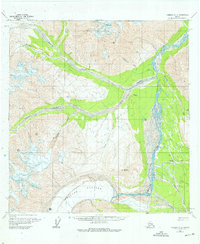 Topo map Nabesna A-3 Alaska