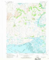 Topo map Noatak A-2 Alaska