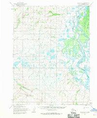 Topo map Noatak B-3 Alaska