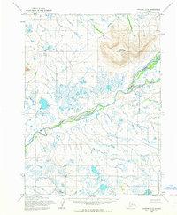 Topo map Noatak D-4 Alaska