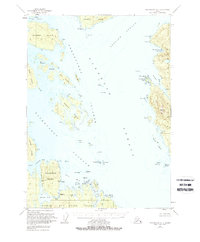 Topo map Petersburg A-3 Alaska