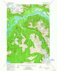 Topo map Petersburg C-1 Alaska
