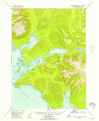 Topo map Port Alexander C-1 Alaska