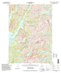 Topo map Port Alexander C-3 Alaska