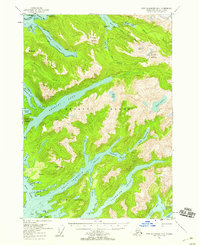 Topo map Port Alexander D-4 Alaska