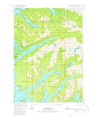 Topo map Port Alexander D-4 Alaska