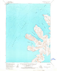 Topo map Port Moller A-1 Alaska