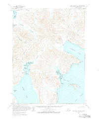 Topo map Port Moller C-2 Alaska