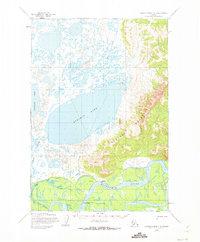Topo map Russian Mission C-4 Alaska