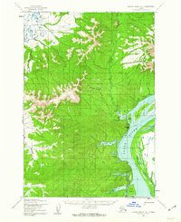 Topo map Russian Mission D-7 Alaska
