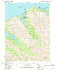 Topo map Seldovia B-5 Alaska