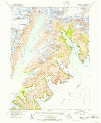 Topo map Seldovia C-1 Alaska
