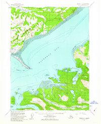 Topo map Seldovia C-4 Alaska