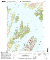 Topo map Seward A-3 Alaska