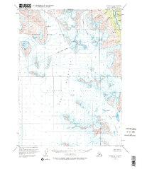 Topo map Seward A-8 Alaska