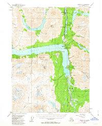 Topo map Seward B-7 Alaska