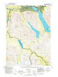 Topo map Seward B-8 Alaska