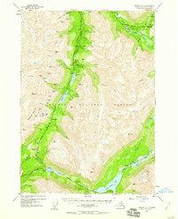 Topo map Seward C-7 Alaska