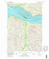 Topo map Seward D-7 Alaska