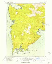 Topo map Sitka A-2 Alaska