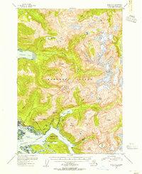 Topo map Sitka A-4 Alaska