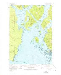 Topo map Sitka A-5 Alaska