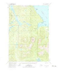 Topo map Sitka C-1 Alaska