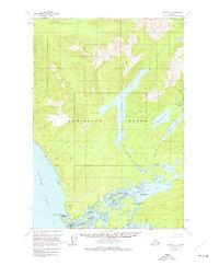 Topo map Sitka C-2 Alaska