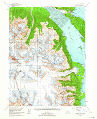 Topo map Skagway A-2 Alaska