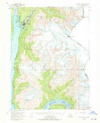 Topo map Skagway B-1 Alaska