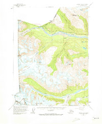 Topo map Skagway B-4 Alaska