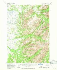 Topo map Sleetmute A-8 Alaska