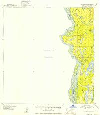Topo map Talkeetna A-1 Alaska