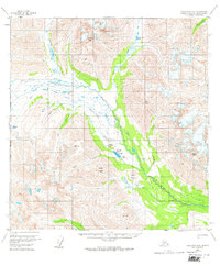 Topo map Talkeetna A-6 Alaska