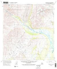 Topo map Talkeetna C-2 Alaska
