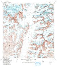 Topo map Talkeetna D-3 Alaska