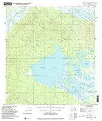 Topo map Tanacross A-4 Alaska
