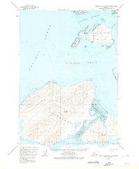 Topo map Trinity Islands C-1 Alaska