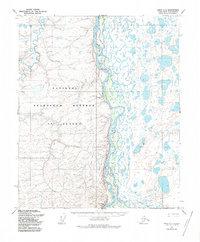 Topo map Umiat C-3 Alaska