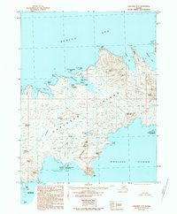 Topo map Unalaska A-5 Alaska