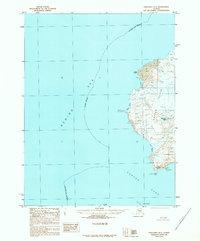 Topo map Unalaska D-1 Alaska