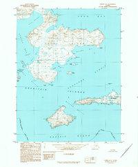 Topo map Unimak A-5 Alaska
