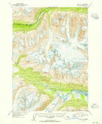 Topo map Valdez A-4 Alaska
